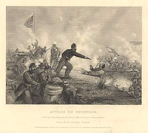 Civil War Photos - Military Figures and Site Illustrations